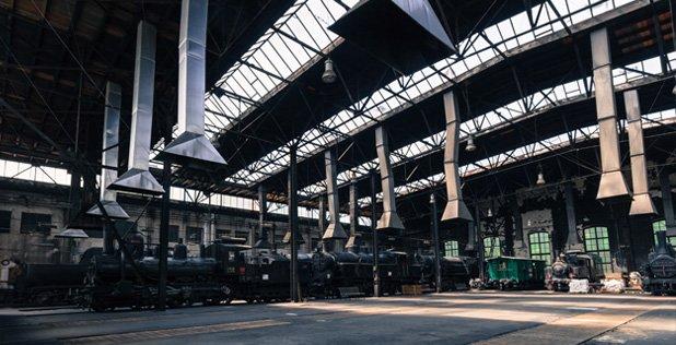 Hal voor locomotieven is veranderd naar bijzonder cultuurcentrum