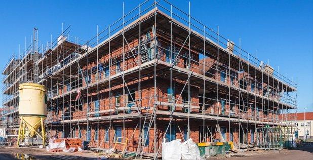 Veel bouwprojecten gestopt door te hoge kosten