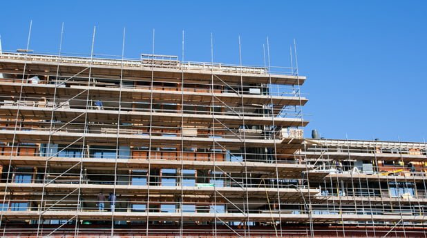 Bouwconcern BAM levert compleet afgewerkte woningen op