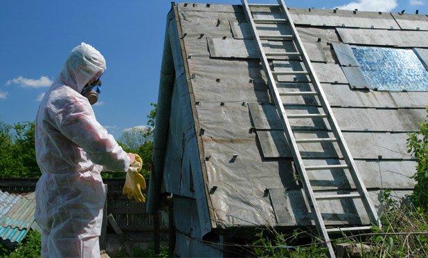Asbest verwijderen zonder wit pak en mondkapje, kan dat
