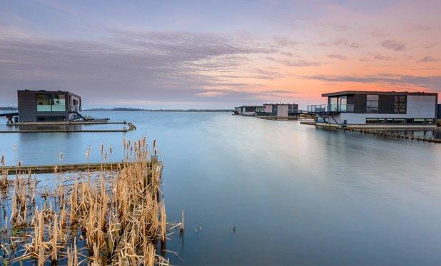 De strijd tegen het stijgende water met drijvende steden