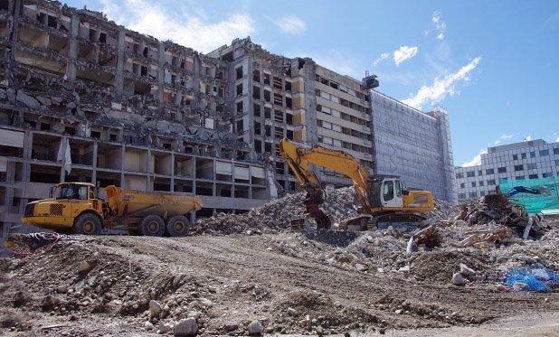 Hergebruik van gebouwen moet in de toekomst verspillen van grondstoffen voorkomen