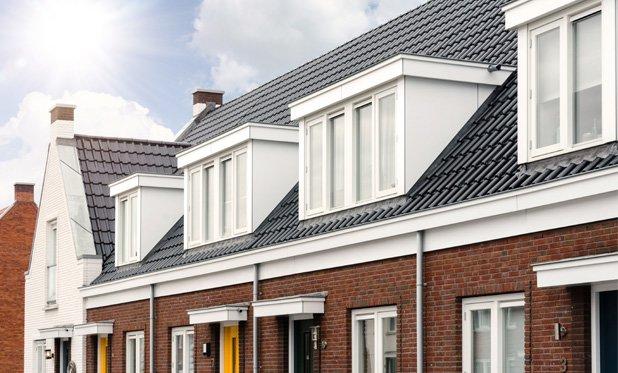 Huurprijzen voor woningen net buiten de grote steden fors gestegen