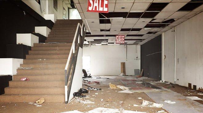 RvS Geen winkels buiten het stadscentrum
