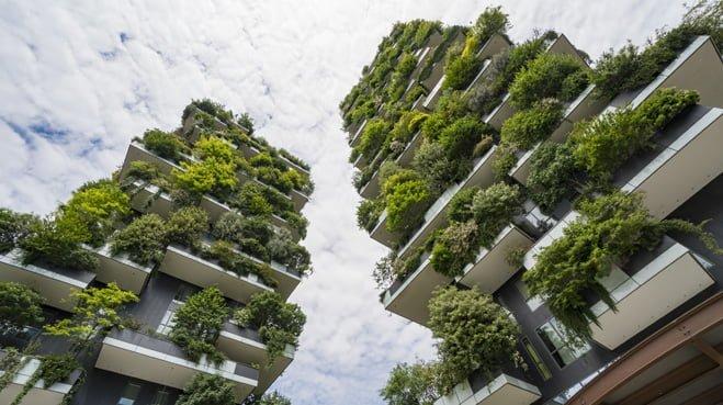 Is groene hoogbouw in de steden het antwoord op de klimaatproblemen