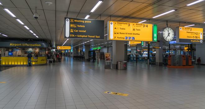 Slimme camera's voor meer veiligheid en snellere doorstroming op Schiphol