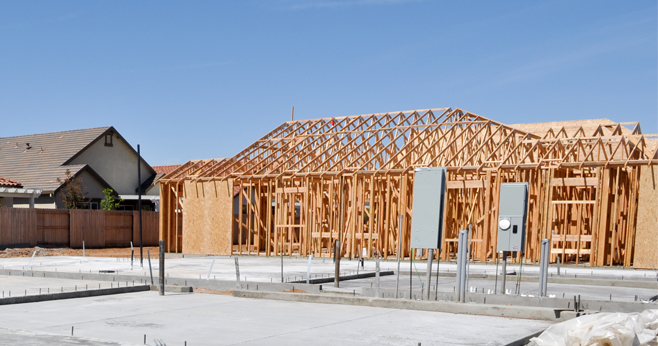 Hout vervangt beton in de bouw