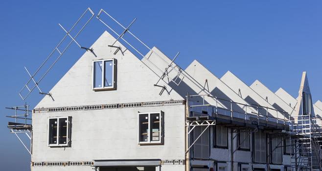 Lang niet alle nieuwbouwhuizen zijn aardgasvrij