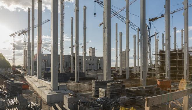 Voorbij Prefab maakt beton dat bij de productie 35 procent minder CO2 uitstoot geeft