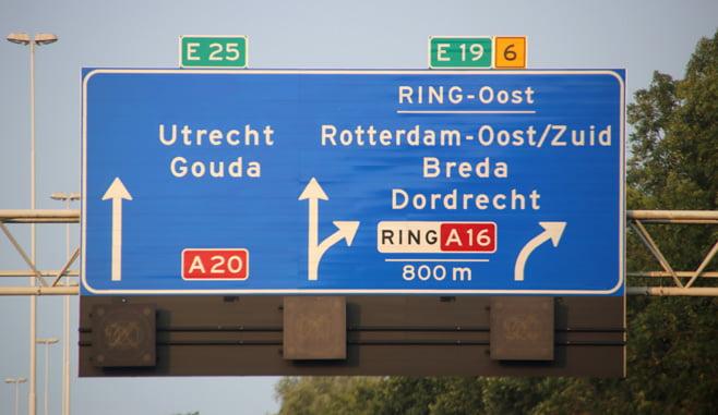 Nieuw plan voor overkapping A20 bij Rotterdam