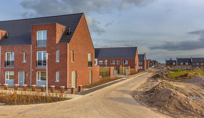 Ondanks krimp in nieuwbouw toch 75000 nieuwe woningen in 2020