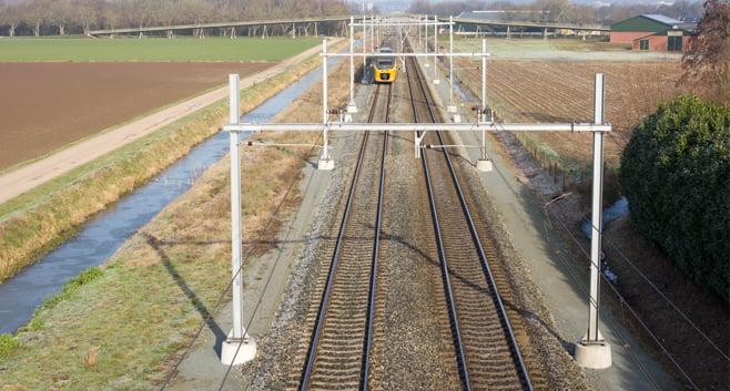 Bouwen langs het spoor moet huizentekort in Brabant deels oplossen