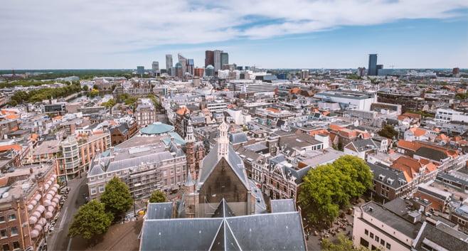De huurprijs per m2 daalt opnieuw in 5 grote steden in Nederland