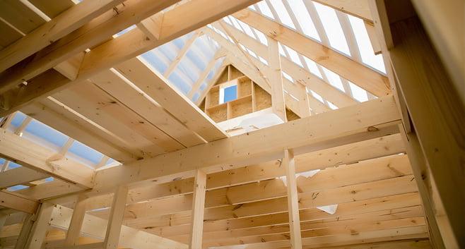Twee bouwpioniers maken hun droom waar rijtjeshuizen bouwen van duurzaam hout
