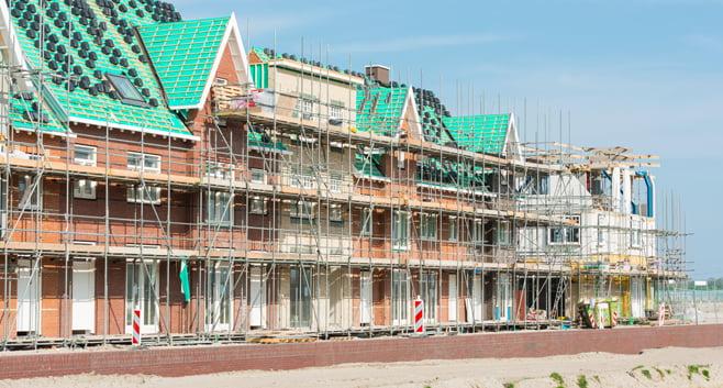 Verkoop van nieuwbouwwoningen in 2020 fors gestegen ten opzichte van 2019