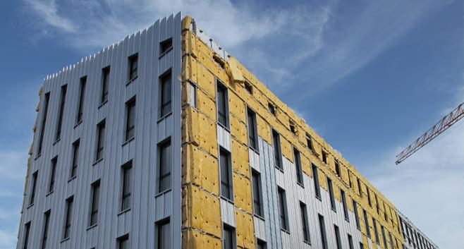 Het Eco Stack Building combineert fundering met duurzaam klimaatbeheer voor gebouwen