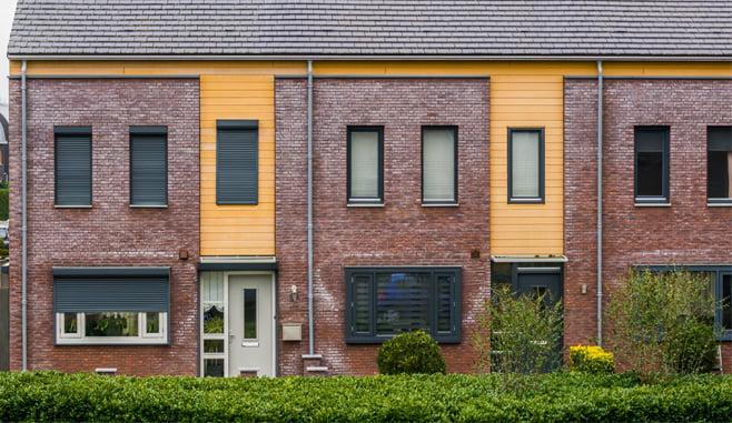 Halvering van het aantal transacties van woningbeleggers in eerste helft 2021