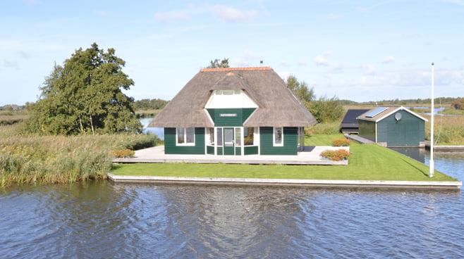 Geen nieuwe woningen maar wel luxe vakantiewoningen in Landsmeer